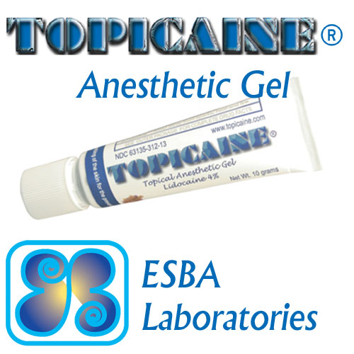 TOPICAINE® Anesthetic Gel